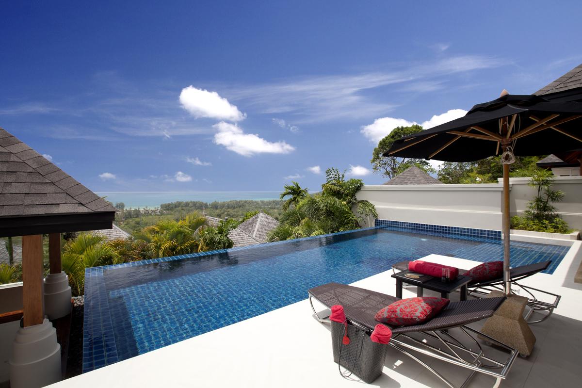 Pavilions Phuket - Ocean View Villa - View