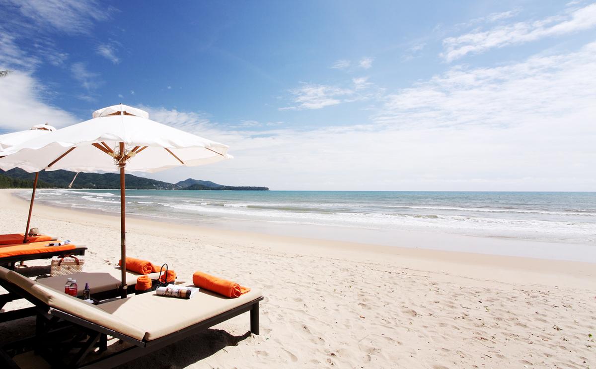 The Pavilions Phuket - Private Beach Area