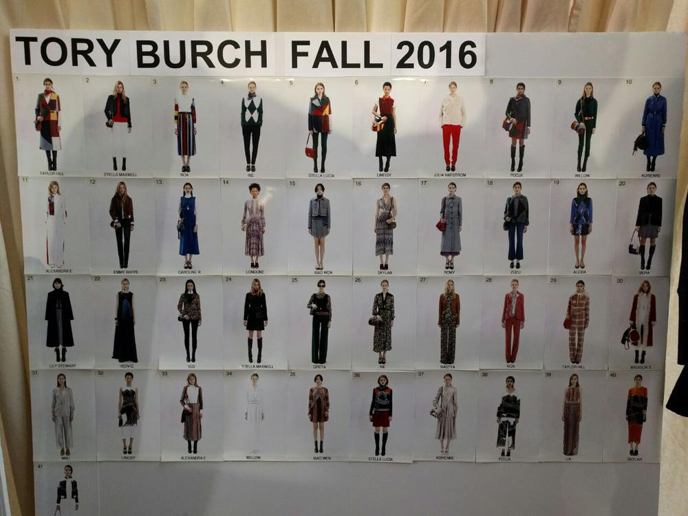 TORY BURCH - NYFW -BACKSTAGE