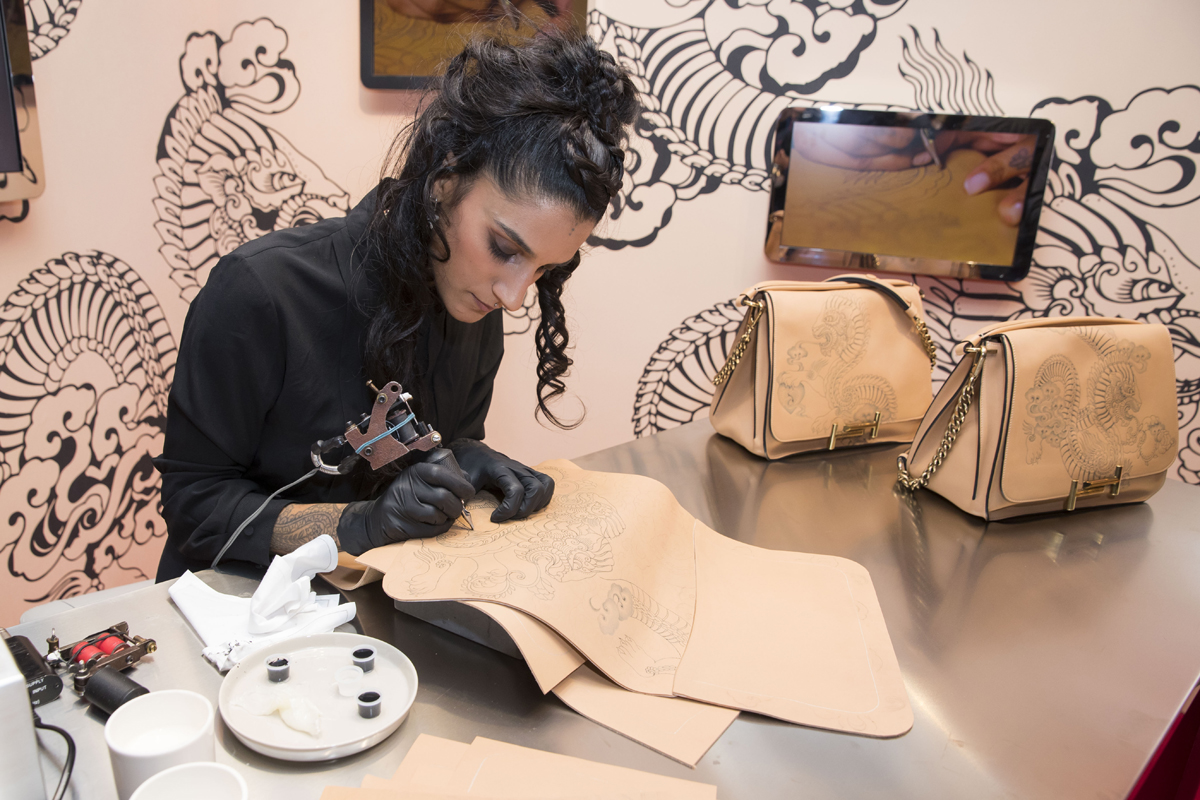 - lancement collection Tatto's Tod's à Paris le 3 mars 2017