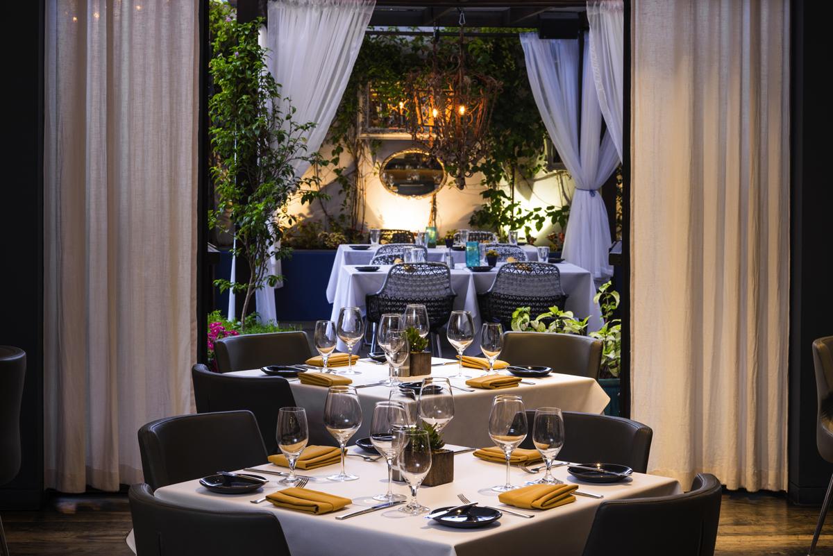 Restaurant night L'Esterel