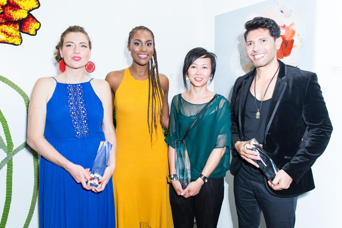 Charity White, Issa Rae, Vanessa Lam, Ariel Vargassal